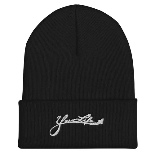 Your Life Cuffed Beanie