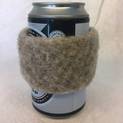 Beige Beverage Cozy
