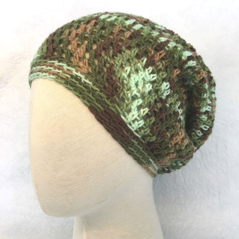 Camo Simple Slouch Hat