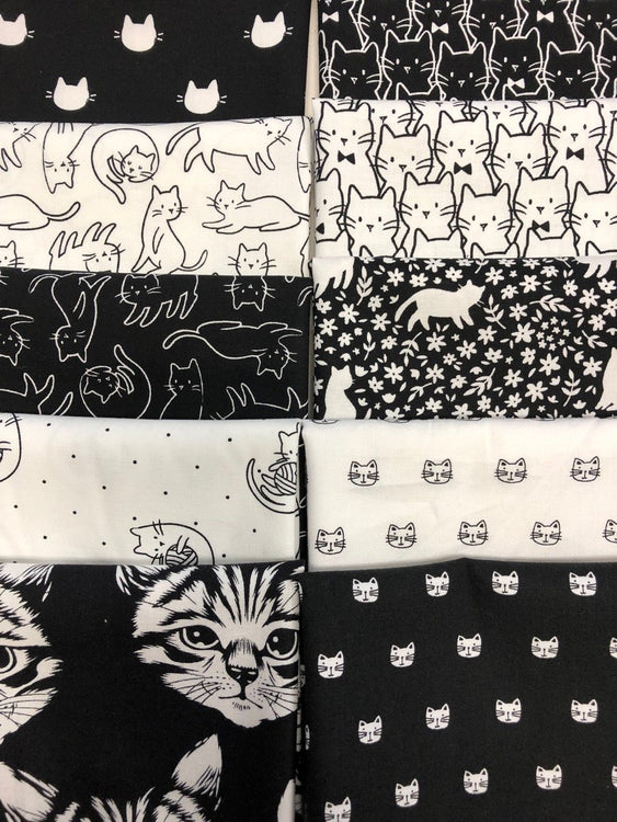 CAT FAT QUARTERS