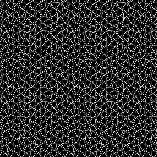 NIGHT & DAY Dot Waves black/white