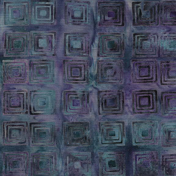 DECO REVIVAL Squares frosted berry
