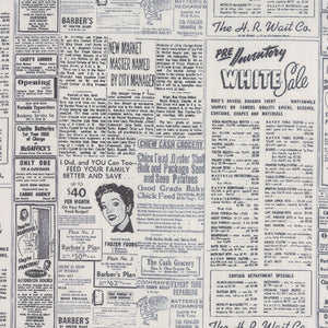 MODERN BACKGROUND PAPER Newsprint black fog