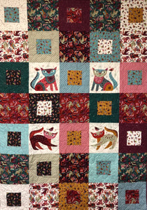 "PANDEMONIUM Stitch Cats 48""x67"""