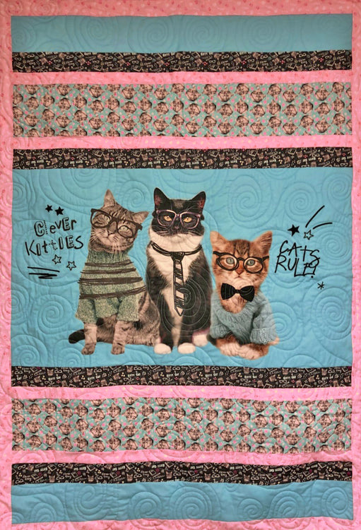 "HONOR Cats Rule 46""x66"""