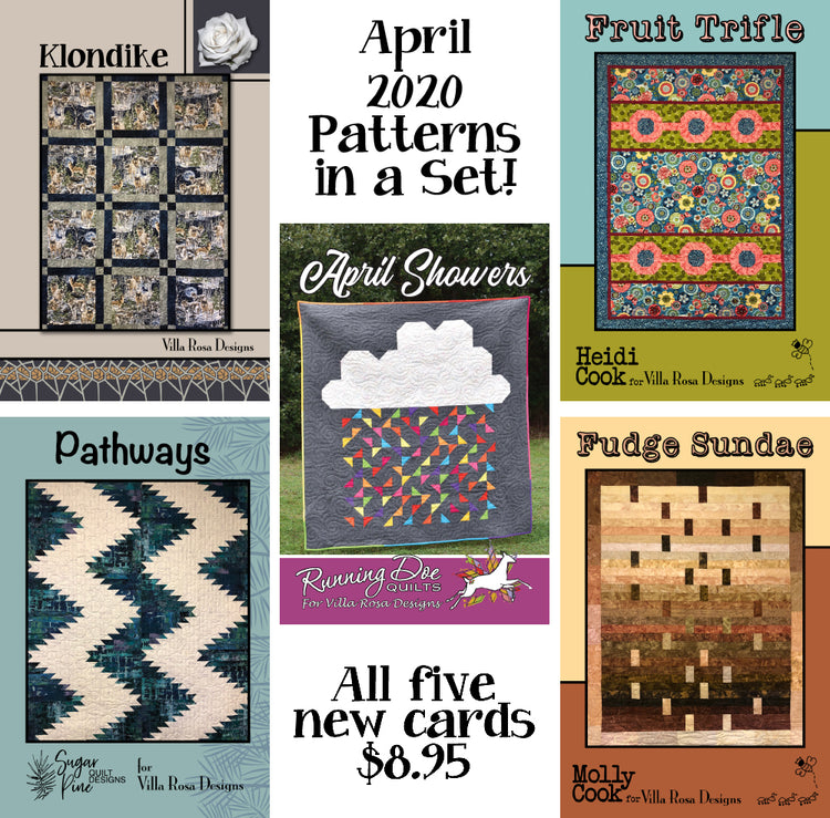 Apr 2020 SET of 5 CARDS