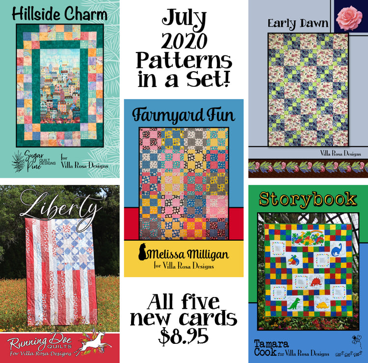 Jul 2020 SET of 5 CARDS