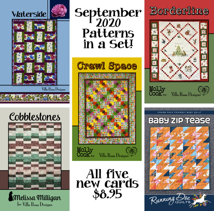 Sep 2020 SET of 5 CARDS