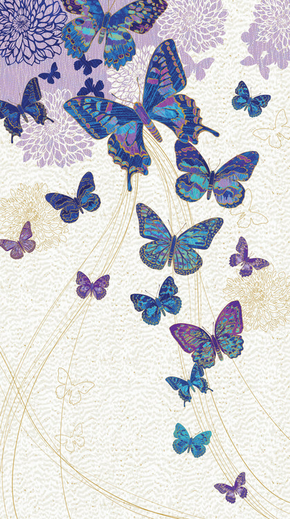 SHIMMER FANTASIA Butterfly Panel nocturnal bliss 44
