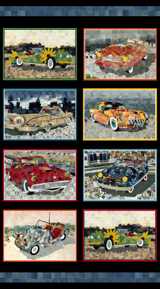 "ARTWORKS Car Patches Panel 24""x42"""
