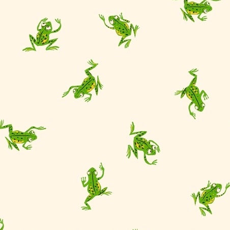 HEATHER ROSS 20TH Frogs white