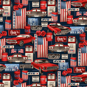 AMERICAN MUSCLE Garage Collage