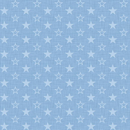 AMERICAN MUSCLE Mini Stars light blue