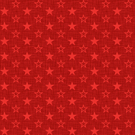 AMERICAN MUSCLE Mini Stars red