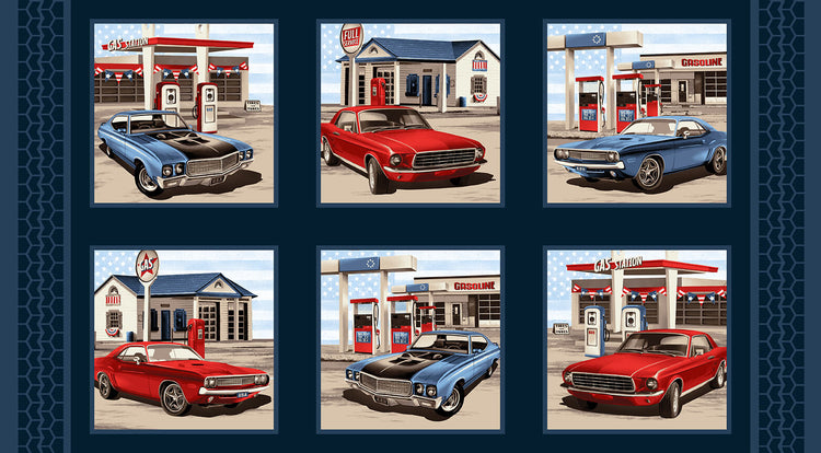 "AMERICAN MUSCLE Panel 43""x24"""