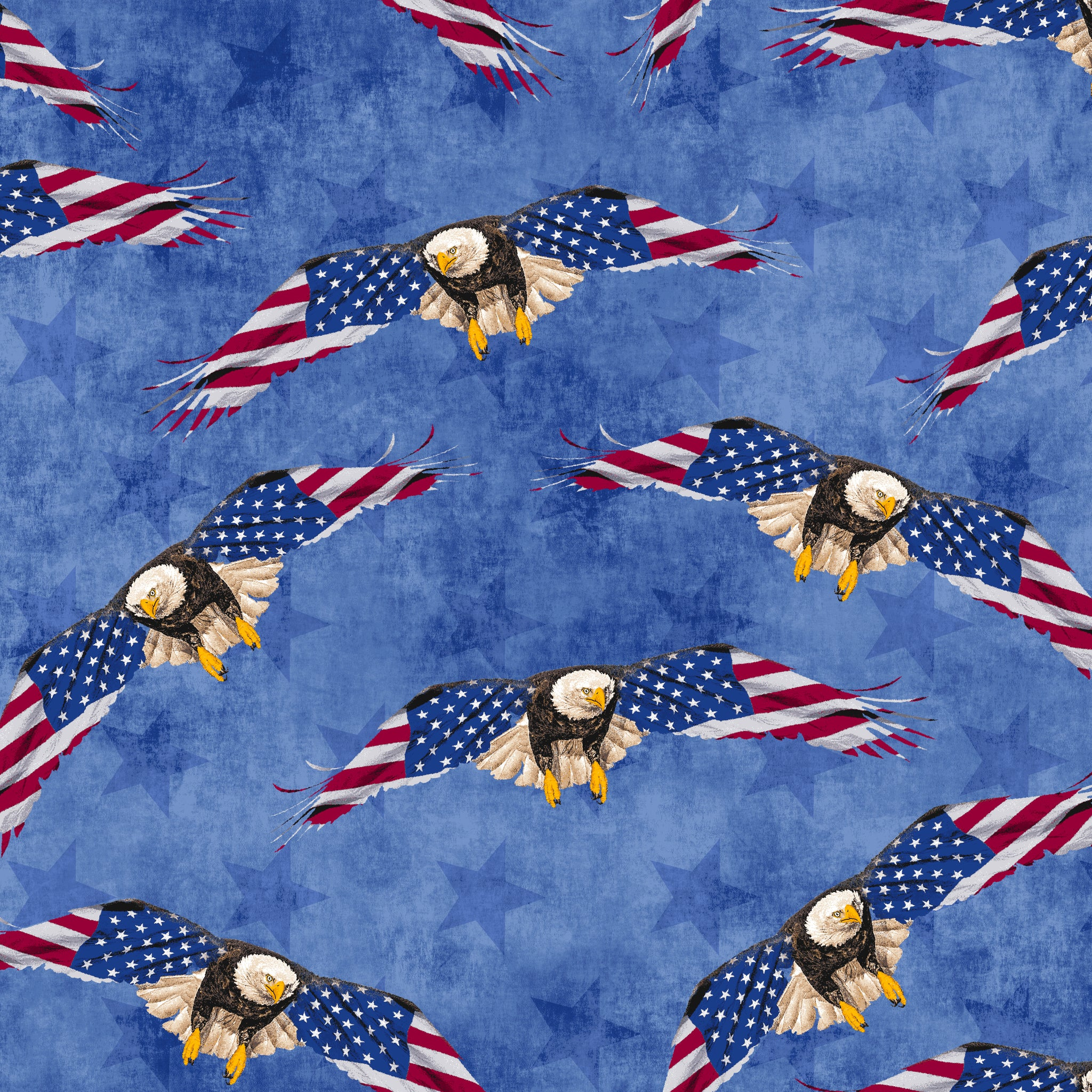 LAND OF THE FREE Eagles blue