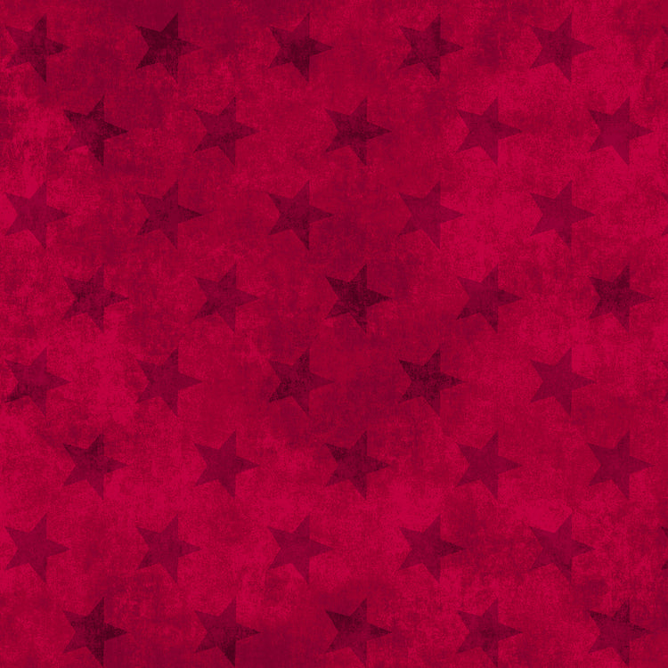 LAND OF THE FREE Stars red