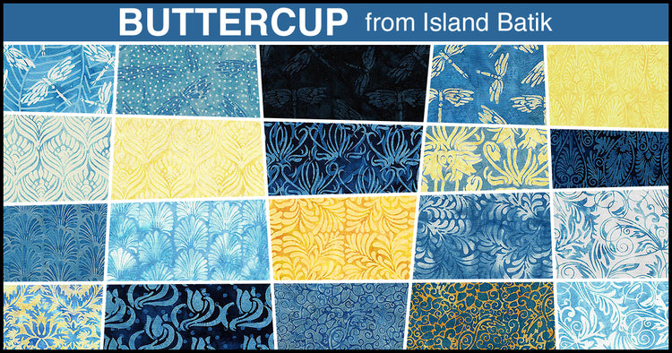 BUTTERCUP 20 fat quarters