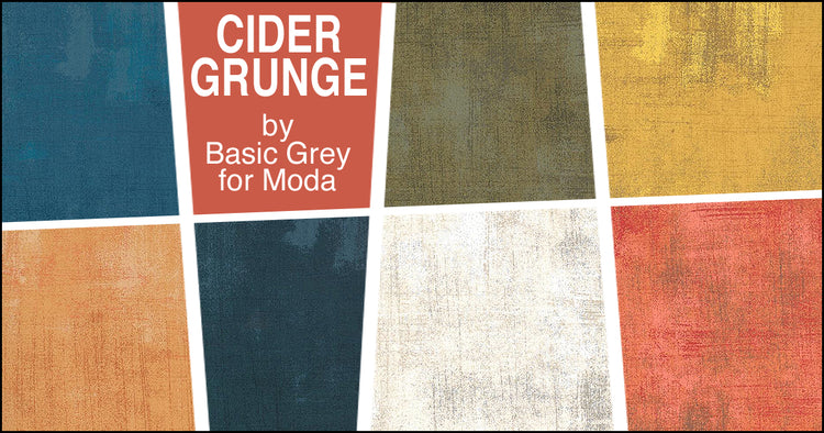CIDER GRUNGE 7 fat quarters