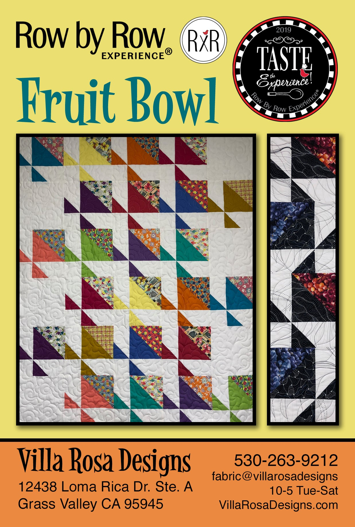 DIGITAL - ROW BY ROW FRUIT BOWL