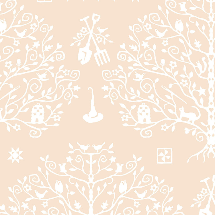 SPELLCASTER'S GARDEN Paper Cut Tree cream