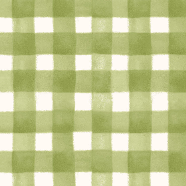SPELLCASTER'S GARDEN Plaid green