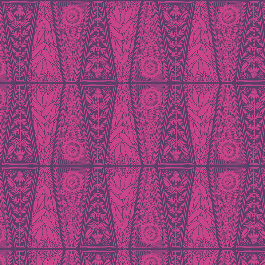 SECOND NATURE Dresden Lace fuchsia