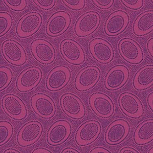 ABORIGINAL DOT maroon