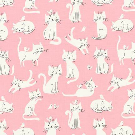 WHISKERS AND TAILS AUI-16731-10 PINK