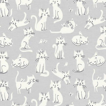 WHISKERS AND TAILS AUI-16731-12 GREY