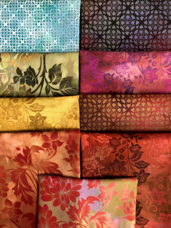 DIAPHANOUS Revisited 9 fat quarters