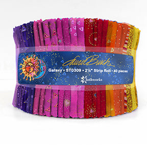"LAUREL BURCH BASICS Galaxy 2 1/2"" Strip Roll"