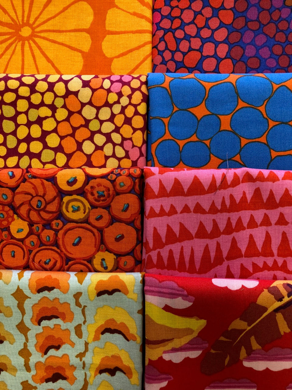 KAFFE February 2021 tangerine 8 half yards
