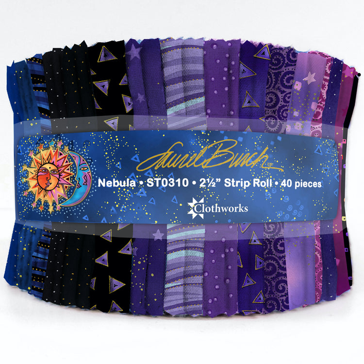 "LAUREL BURCH BASICS Nebula 2 1/2"" Strip Roll"