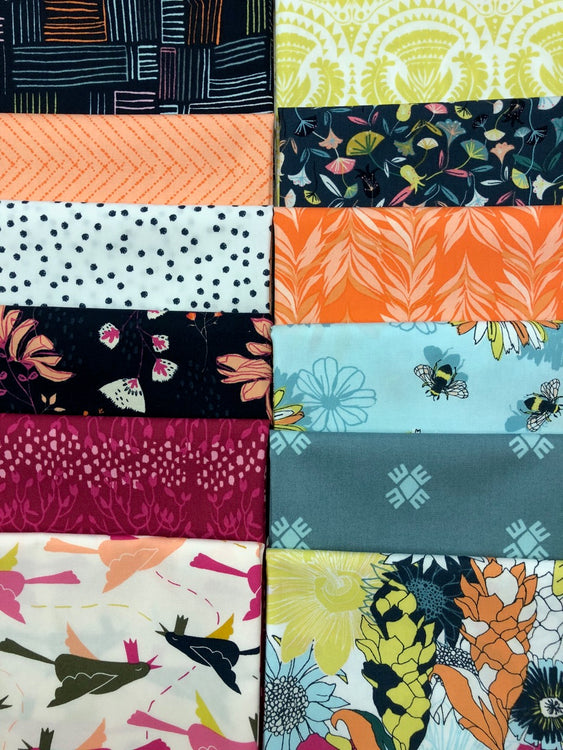 POLLINATE 12 fat quarters