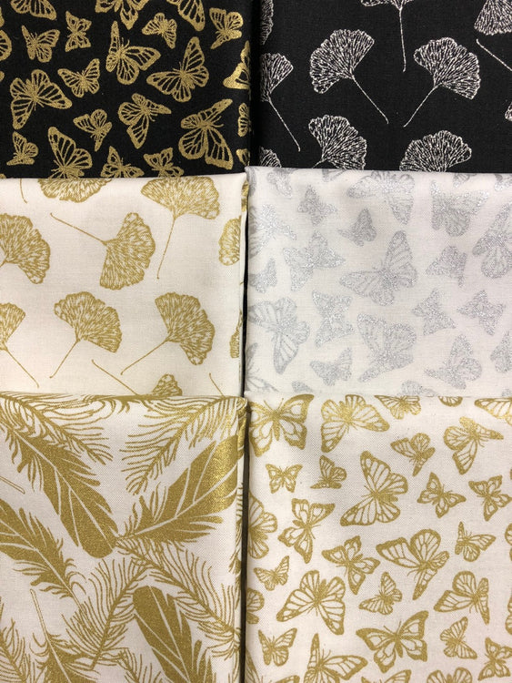 PRECIOUS METAL 6 fat quarters