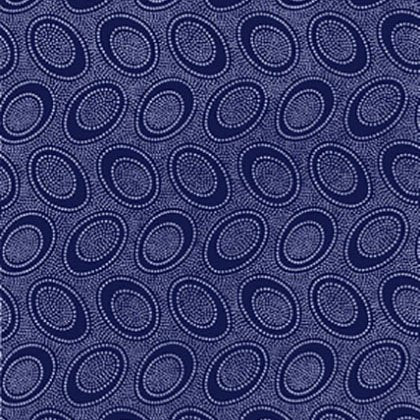 ABORIGINAL DOT indigo