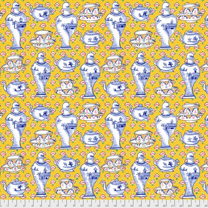 DELFT POTS yellow