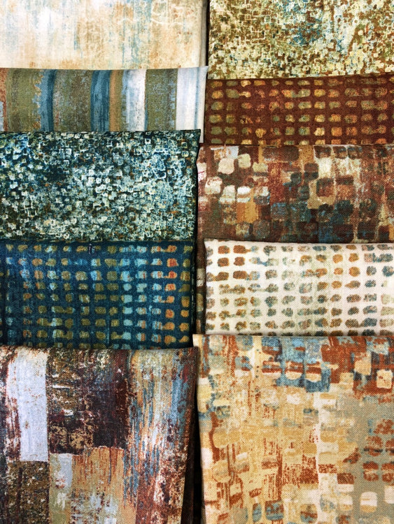 URBAN REFLECTIONS 10 fat quarters