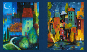 CITY DREAMS Y2774-93 Panel light navy