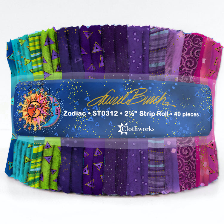 "LAUREL BURCH BASICS Zodiac 2 1/2"" Strip Roll"