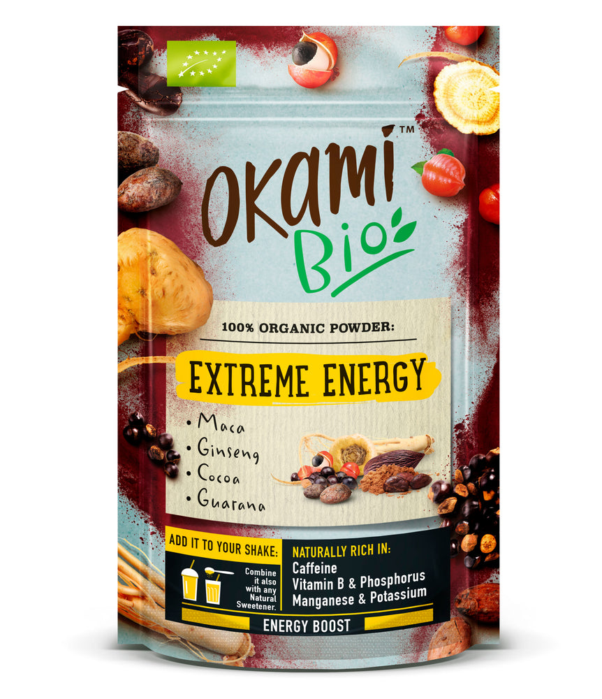 Okami Extreme Energy Superfood Powder