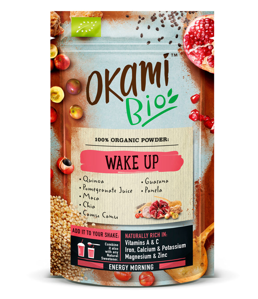 Okami Wake Up Superfood Powder