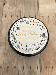 Magnesium Sleep Balm with Relaxing Essential Oils Magnesium Chloride Balm