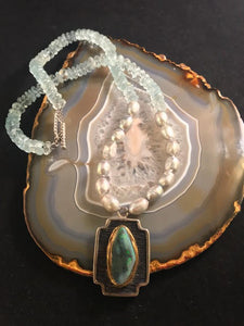Lighting Ridge Opal Pendant Necklace