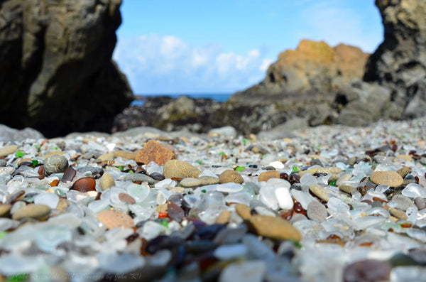 Glass Beach in Fort Bragg California