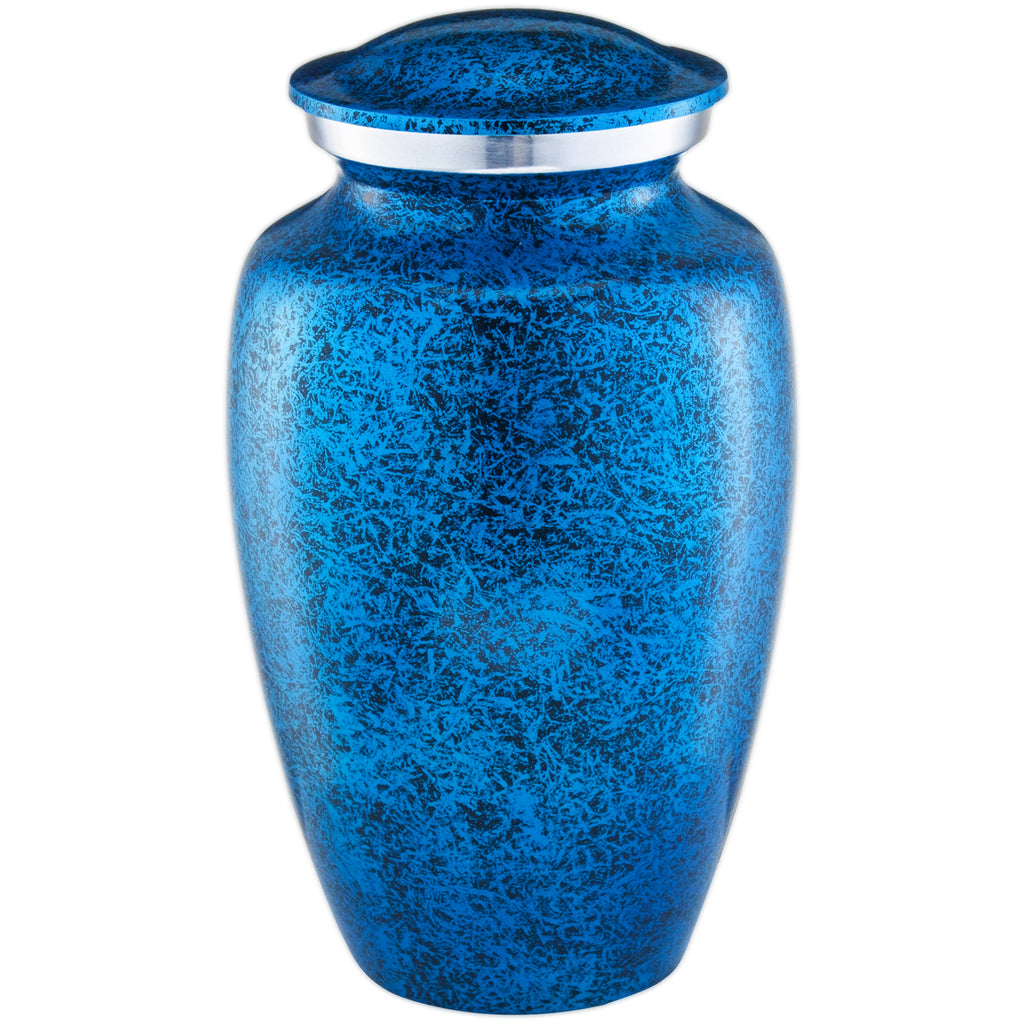 ADULT CREMATION URN - BLUE FOREST