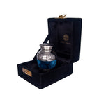 SMALL KEEPSAKE URN - BLUE CLOUDS