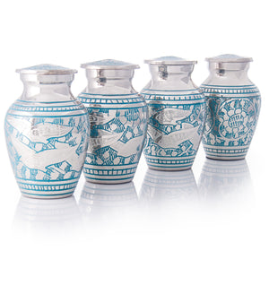 SMALL KEEPSAKE URN COLLECTION - GOING HOME - SET OF 4