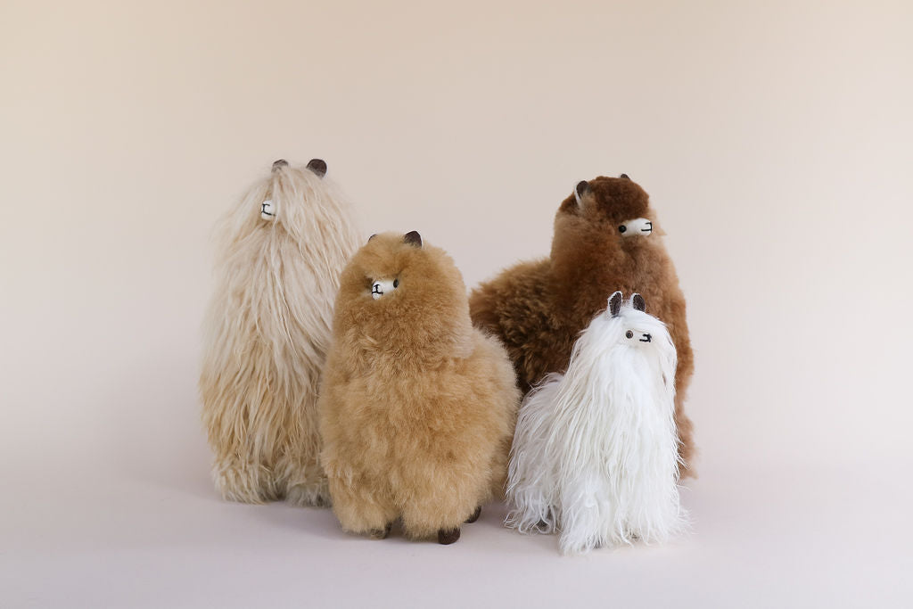 La Sierra's Alpaca toys are handcrafted by artisans in Peru and available in Melbourne and online.